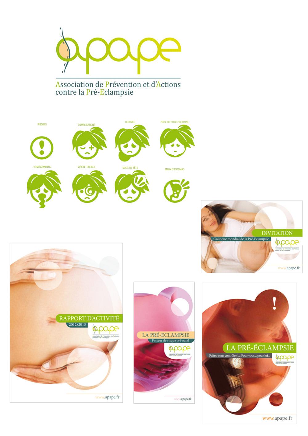 Conception de la charte graphique et des plaquettes