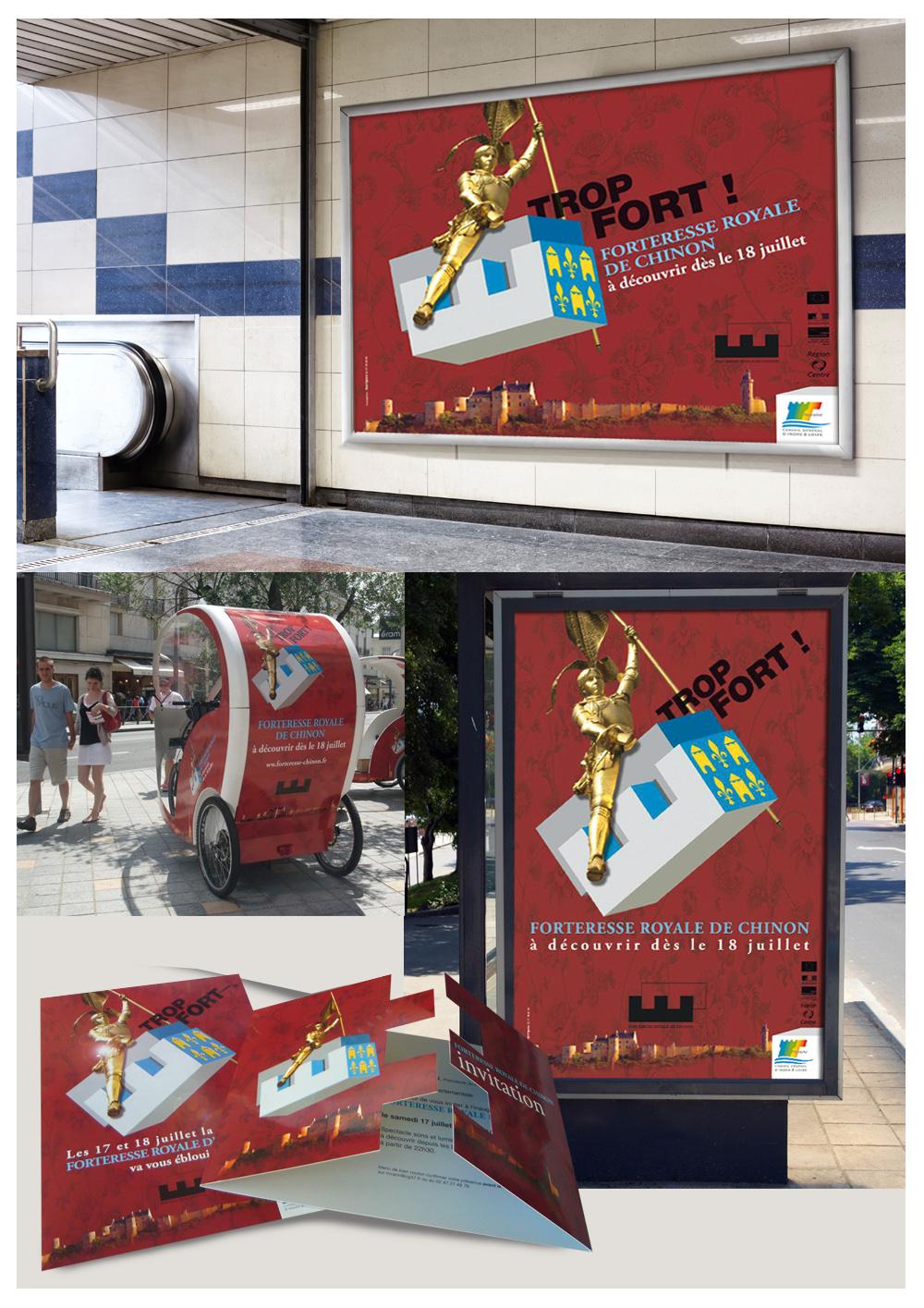 Conception d'une campagne de lancement (affiche, plaquette, invitation...)