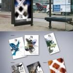 Création d supports de communication pour l'abbaye de Noirlac (affiche, brochure, plaquette, flyer)