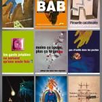 conception création d'affiches de prévention pour l'INRS