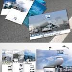 Création de plaquettes, brochures, stand, dérouleurs, calendriers