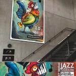 conception création affiche festival événement jazz