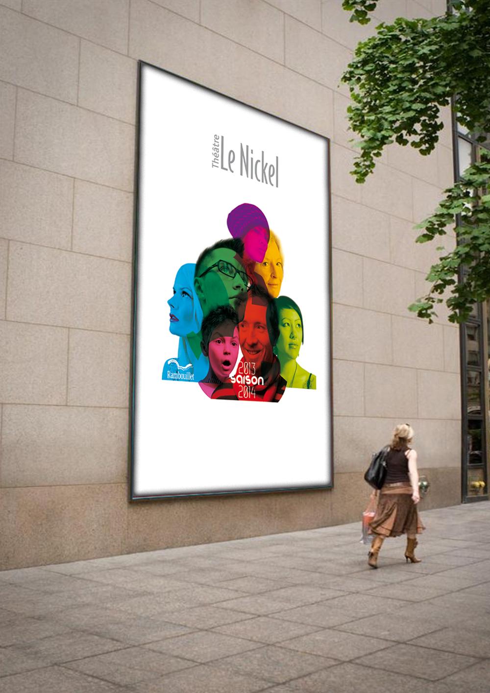 Conception d'une affiche et d'un programme pour la ville de Rambouillet