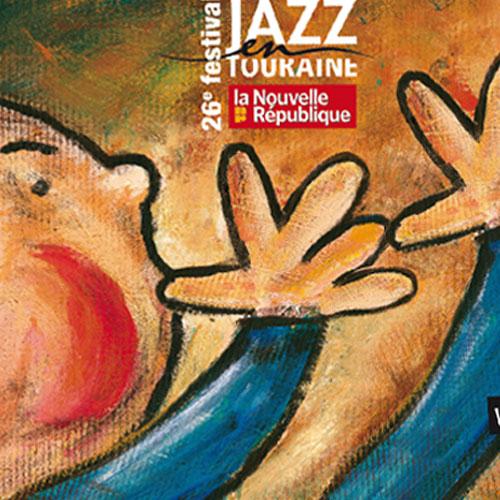[Création] [Affiche] Festival Jazz en Touraine 2012