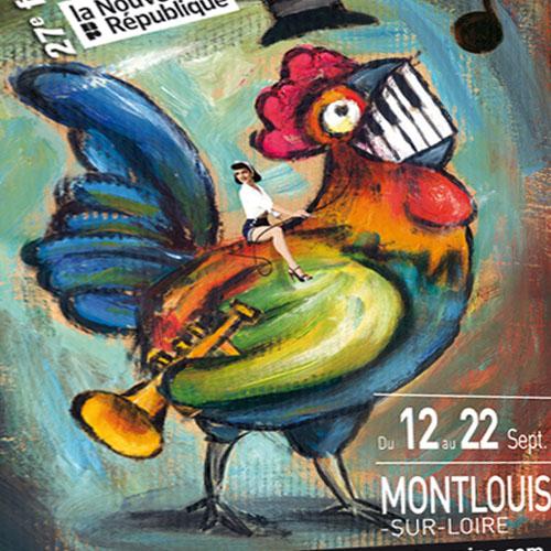 [Création] [Affiche] Festival Jazz en Touraine 2013