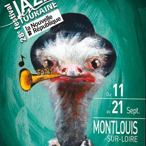 [Création] [Affiche] Festival Jazz en Touraine 2014