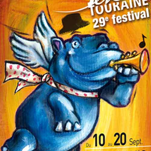 [Création] [Affiche] Festival Jazz en Touraine 2015