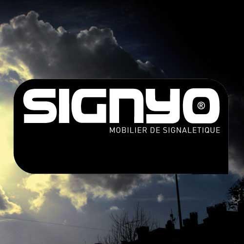 [Signalétique] [Totem] [Mobilier urbain] [Design] [Original] SIGNYO