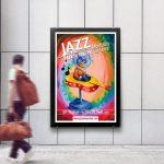 Visuel et affiche festival jazz en touraine