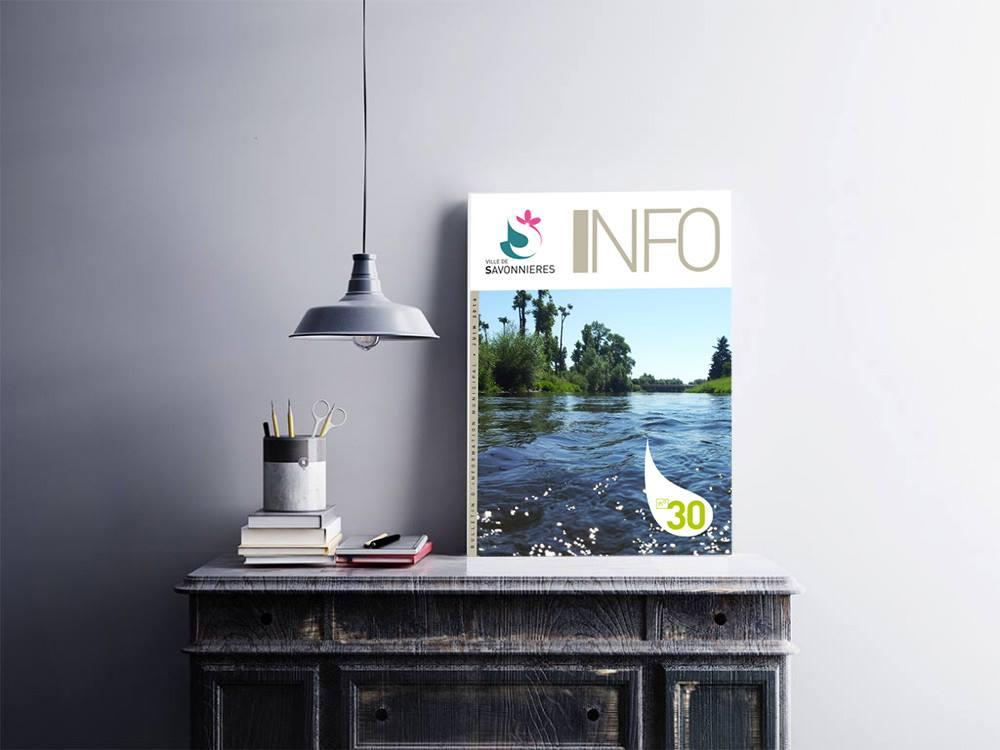 [Conception] [Mise en page] [Magazine] Ville de Savonnières