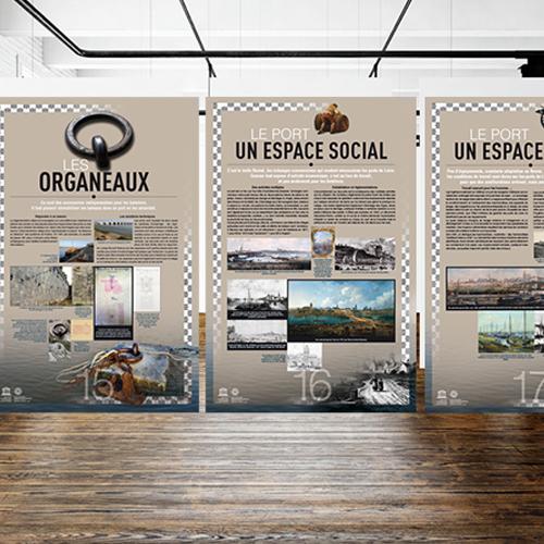 Mission Val de Loire [Création de panneaux d'exposition]