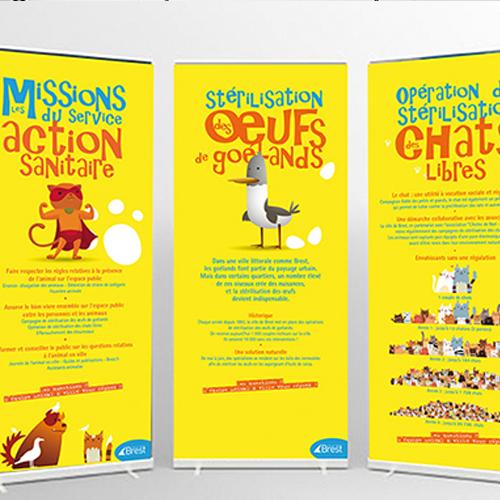 [Communication globale] [Flyers, brochures, affiches] Ville de Brest - Brest Métropole