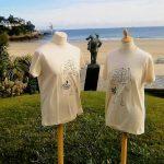 conception du tee shirt du festival du Film Britannique de Dinard