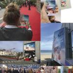 dinard film festival conception création affiches, annonces, billets, programmes, signalétique, décoration, merchandising ….