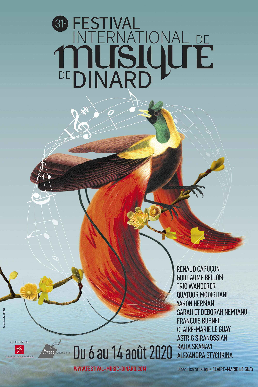affiche, création, conception, festival musique, Dinard, design, graphique, graphisme