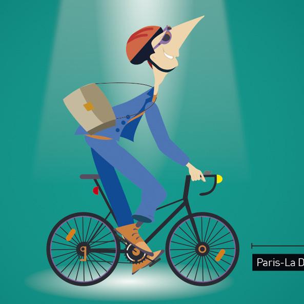 Campagne de valorisation des pistes cyclables