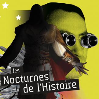 Affiche Nocturnes de l'Histoire