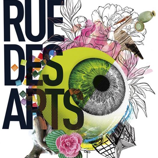 Affiche Rue des Arts